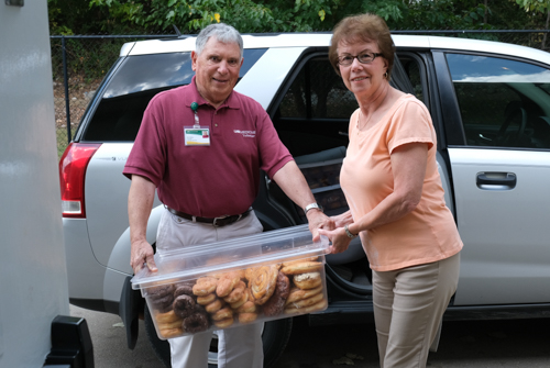 Donut Don: August's Volunteer of the Month