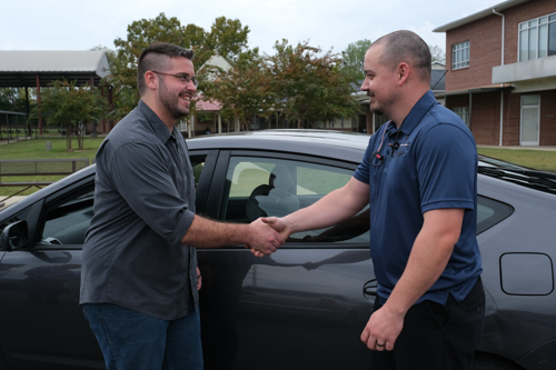 Driving Hope blesses another Mission client