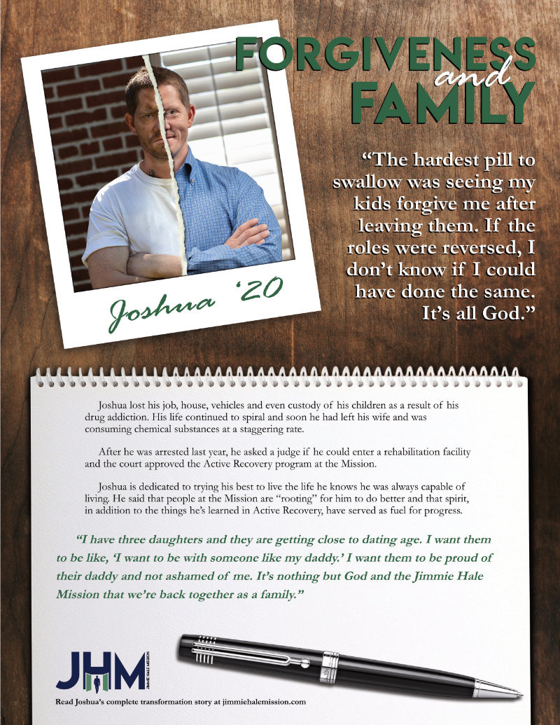 Joshua finds hope and a restored family