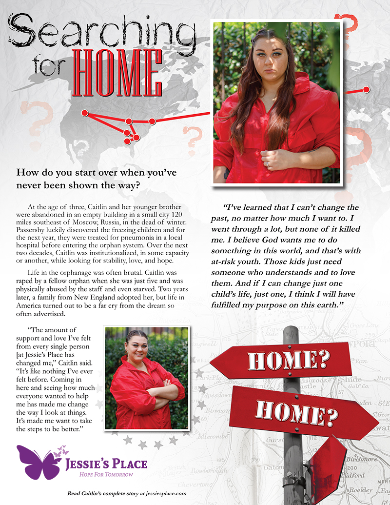Cailin's Story - Searching for Home