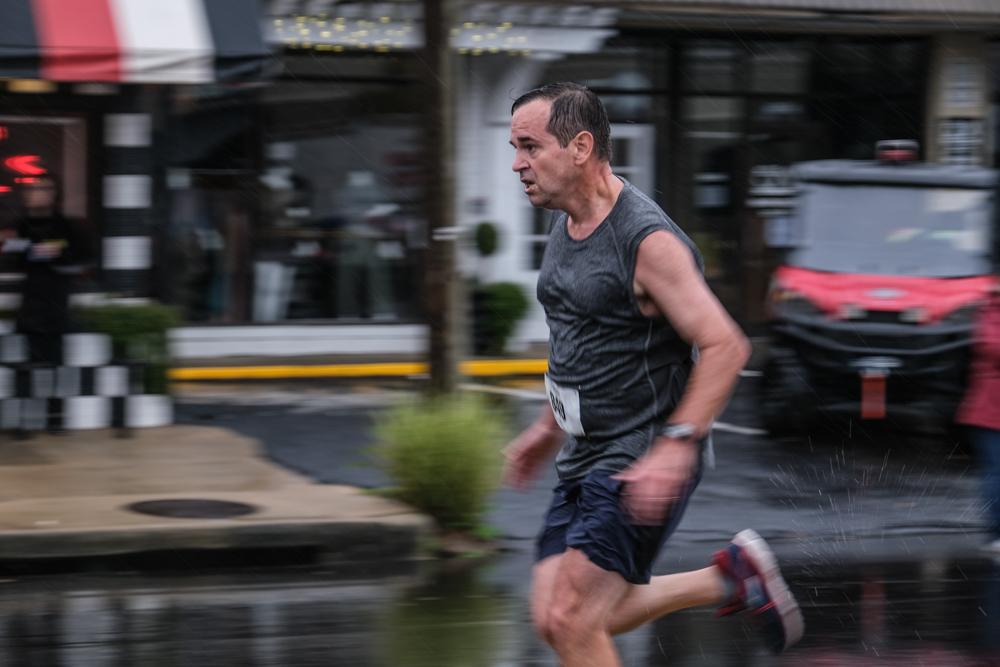 Participants embrace rain in first-ever Rescue Run