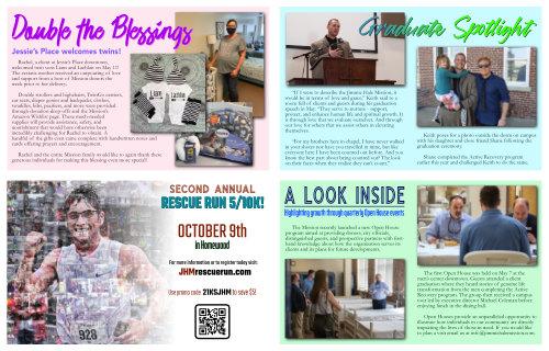Summer Newsletter One